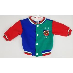 Baby Letterman Jacket Size 3-6 Months